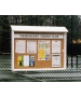 Outpost Model 1 Outdoor Display Board - Courtmaster Tennis Court Accessories