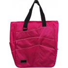 Maggie Mather Super Tote (Fuchsia) - Maggie Mather Tennis Bags