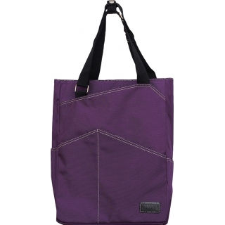Maggie Mather Tennis Tote (Plum)