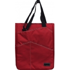 Maggie Mather  Tote (Red) - Tennis Tote Bags
