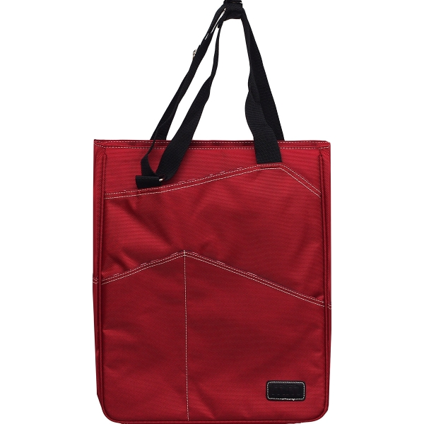 Maggie Mather Tennis Tote (Red)
