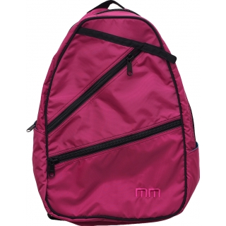 Maggie Mather Tennis Backpack (Berry)