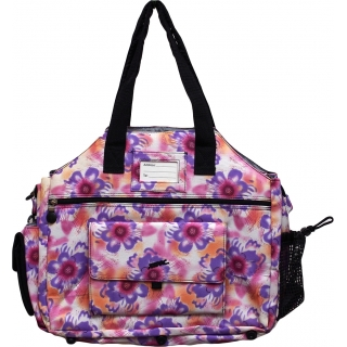 Jet Purple Tropical Tennis Tote