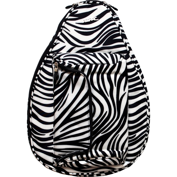 Jet White Zebra Mini Backpack