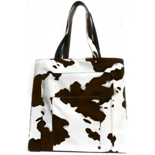 40 Love Courture Bessie Paris Sack Tennis Bag (Brown/ White)