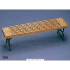 Patio and Mall Bench #3091 - Courtmaster Tennis Benches Tennis Equipment