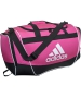Adidas Defender II Small Duffel Bag (Intense Pink)  - Adidas Tennis Bags