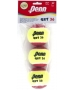 Penn QST 36 Felt Balls 3pk - Tennis Skills Equipment