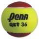 Penn QST 36 Red Felt Tennis Balls (3 Pack) - Training Brands