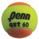 Penn QST 60 Orange Tennis Balls (3 Pack) - Training Brands