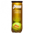 Penn Tour Regular-Duty Felt Tennis Balls (3-Ball Can) - Tennis Accessories