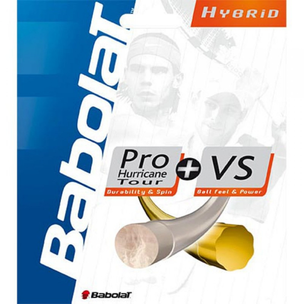 Babolat Hybrid Pro Hurricane Tour 17g / VS Touch 16g (Set)