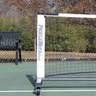 PickleNet Deluxe Portable Pickleball Net System On Wheels - Pickleball Paddles, Balls, Bags and Court Equipment