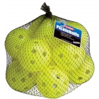 Tourna Indoor Optic Yellow Pickleballs (12-Pack) - Pickleball Equipment Brands
