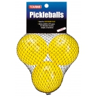 Tourna Outdoor Optic Yellow Pickleballs (3-Pack) - Tourna Pickleball Balls & Court Equipment