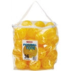 Tourna Outdoor Optic Yellow Pickleballs (36-Ball Tote) - Pickleball Equipment Brands