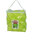 Tourna Indoor Optic Yellow Pickleballs (40-Ball Tote) - Pickleball Equipment Brands