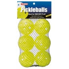 Tourna Indoor Optic Yellow Pickleballs (6-Pack) - Pickleball Equipment Brands