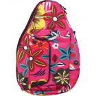 Jet Pink Floral Mini Backpack - Jet Mini Tennis Bags