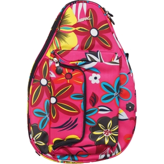 Jet Pink Floral Mini Backpack