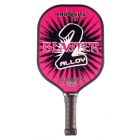 Pro-Lite Blaster 2 Alloy Paddle (Pink) - Tennis Court Equipment