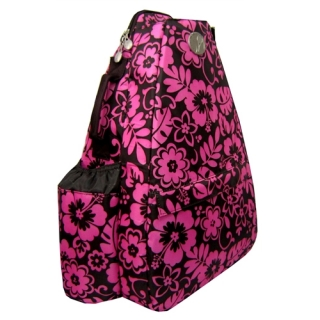 Jet Pink Hibiscus Small Sling Convertible