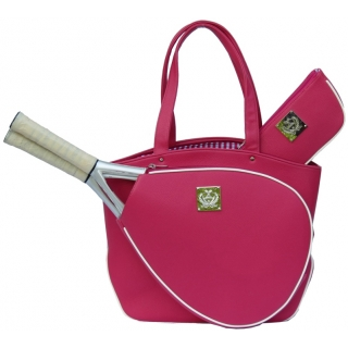 Court Couture Cassanova Tennis Bag (Pink Pebble)