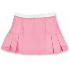 Little Miss Tennis Pleated Skort (Pink) - Girls's Tennis Apparel