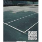 Polythylene Tennis Court Cover #3540 - Tennis Court Equipment