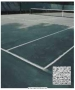 Pre Cut Tennis Court Cover #3541 - Courtmaster Court & Gym Covers