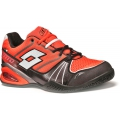 Lotto Men`s Stratophere Speed Tennis Shoes (Red/Warm Black)