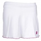Prince Women's Skort (White/ Berry) - Women's Tennis Apparel