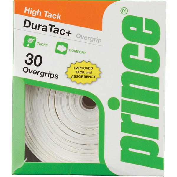 Prince DuraTac+ OverGrip 30 Pack