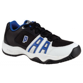 Prince T14 Junior Tennis Shoe (Blk/ Wht/ Roy)