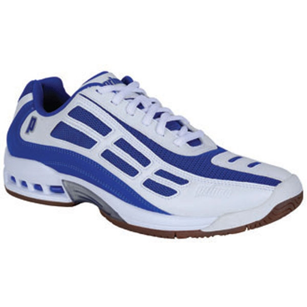 Prince Men's Renegade LS Indoor Tennis Shoe (Wht/ Roy/ Sil)