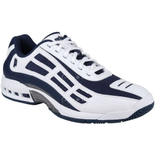 Prince Men's Renegade LS Tennis Shoe (White/Navy/Silver)
