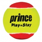 Prince Play+Stay Stage 3 Balls (75% Reduced Speed Felt) 3 Pk - Tennis Balls
