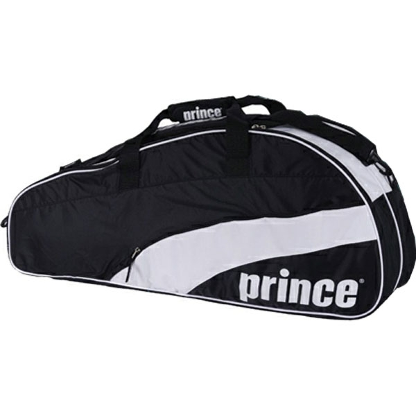 Prince T22 Team 6 Pack Tennis Bag (Blk/ Wht)