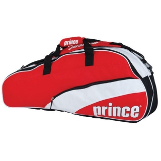 Prince T22 Team 6 Pack Tennis Bag (Red/ Wht)