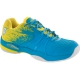 Prince Women's Warrior Lite Tennis Shoes (Blue/Yellow) - Prince Tennis Shoes