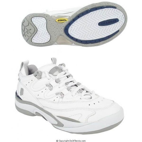 Prince Women's QT Scream Low (White/Light Grey)