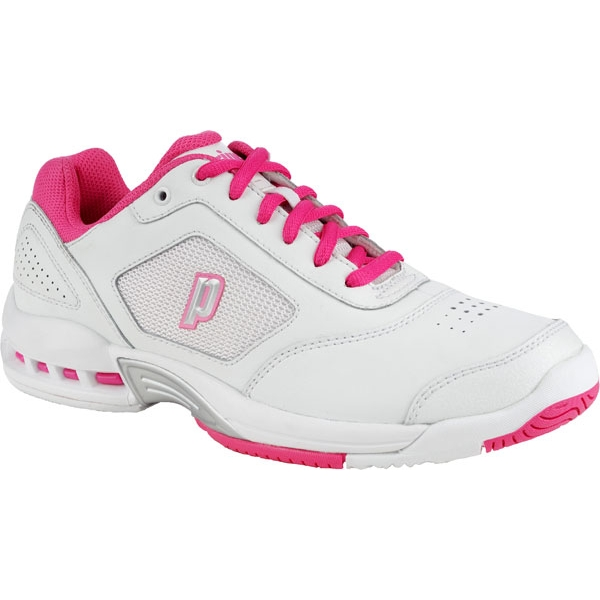 Prince Women's Renegade 2 LS Tennis Shoes (White/ Pink)