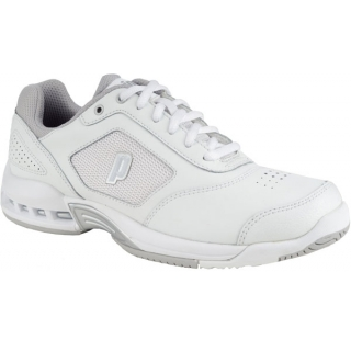 Prince Women's Renegade 2 LS Tennis Shoes (White/ Silver)