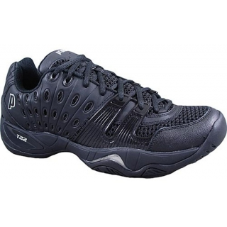 Prince Women's T22 Tennis Shoe (Black/Black)