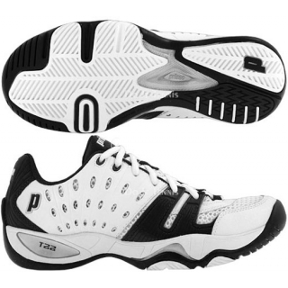Prince Women's T22 Tennis Shoe (White/Black)