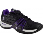 Prince Women's T24 Shoes (Black/ Purple) - Women's Tennis Shoes