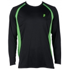 Prince Men's Longsleeve (Black/Green) - Men's Tennis Apparel