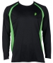 Prince Men's Longsleeve (Black/Green) - Prince Tennis Apparel