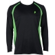 Prince Men's Longsleeve (Black/Green) - Men's Long-Sleeve Shirts