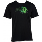 Prince Men's Splatter Tee (Black) - Men's Tennis Apparel